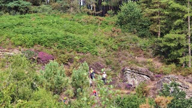 Site naturel d'escalade de la Chambre au loup