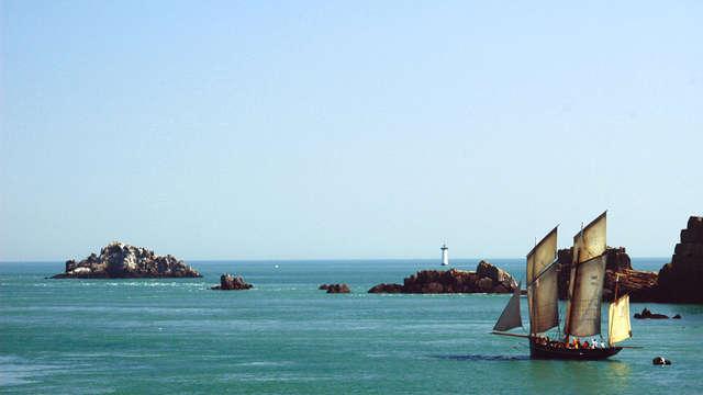 L'archipel de Chausey en bisquine