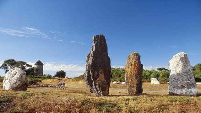 Les mégalithes et landes de Saint-Just