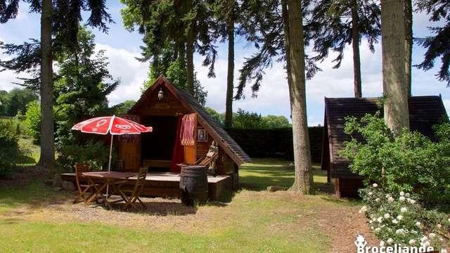 Cabanes de Pionniers du Camping d'Aleth