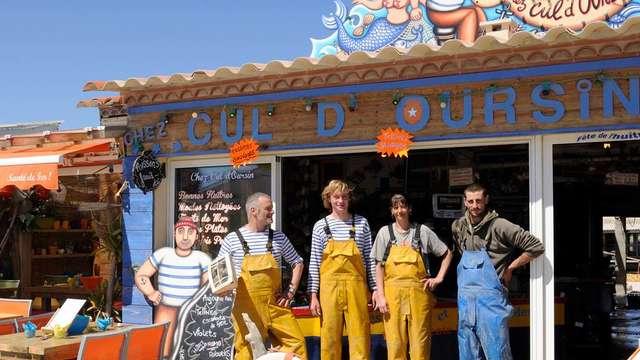 PRODUCTEUR D'HUITRES GUINOT - Chez Cul d'Oursin