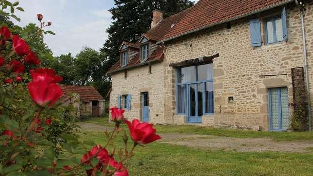 Location Gîtes de France - TOULX SAINTE CROIX - 8 personnes - Réf : 23G1018