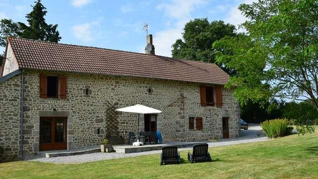 Location Gîtes de France - AHUN - 6 personnes - Réf : 23G1241