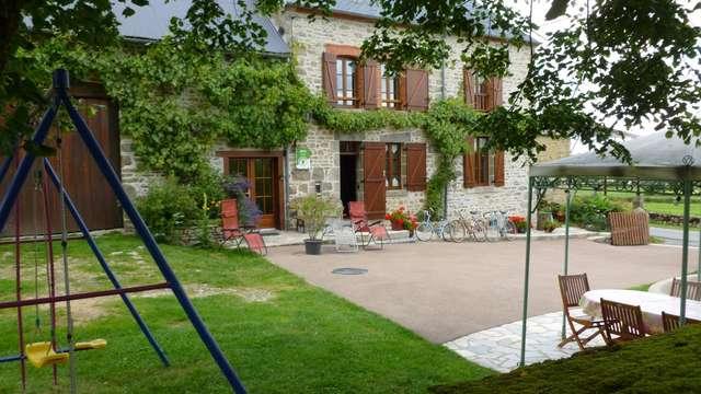 Location Gîtes de France - CRESSAT - 8 personnes - Réf : 23G760