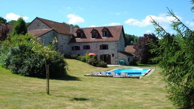 Location Gîtes de France - ST SILVAIN MONTAIGUT - 6 personnes - Réf : 23G1440