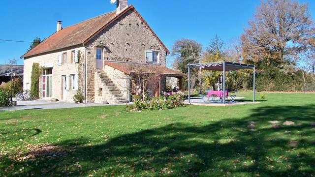 Location Gîtes de France - AJAIN - 5 personnes - Réf : 23G1087