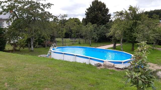 Location Gîtes de France - SAINT CHRISTOPHE - 12 personnes - Réf : 23G1321