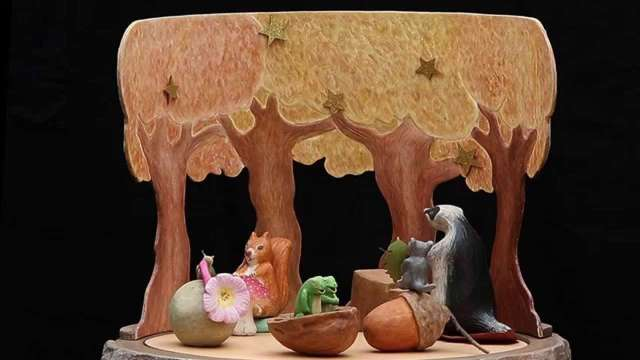 Le P'tit bal des animaux. Par le Théâtre des sept lieues.