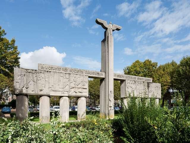 Soissons, art déco ? Monument Guy de Lubersac