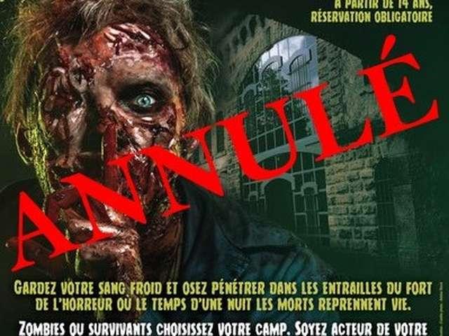 Nuit des zombies - ANNULÉ