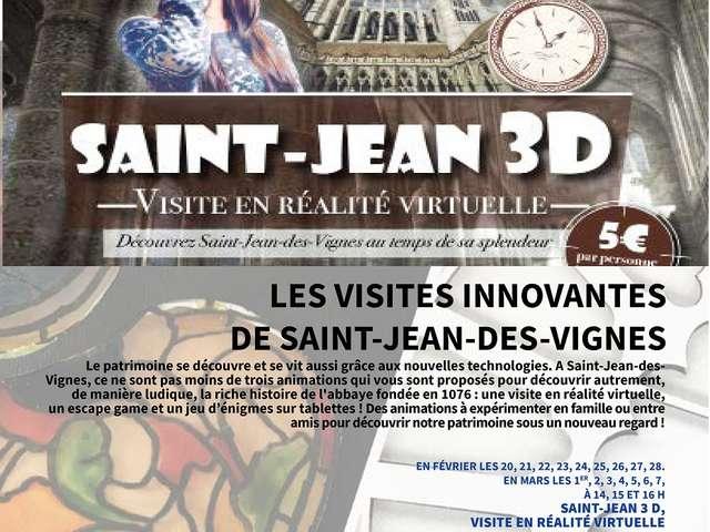 Saint-Jean en 3D.