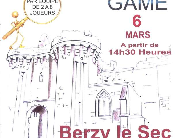 Escape Game à Berzy-le-Sec