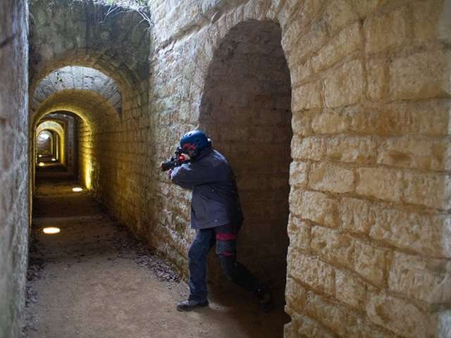 Laser Game au fort de Condé