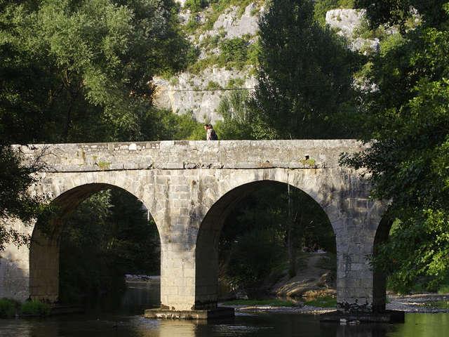 GR651 de Béduer à Bouziès, par la vallée du Célé