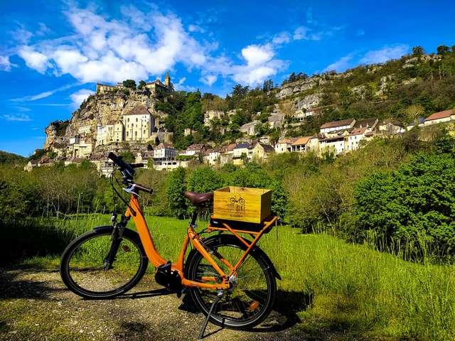 Lot & Bike Rocamadour