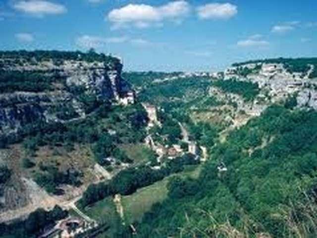 La Vallée de l'Alzou dans toute sa splendeur