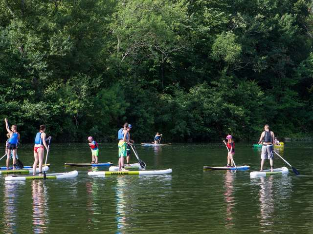 Corrèze Sports Animations - Canoë - Stand-Up Paddle