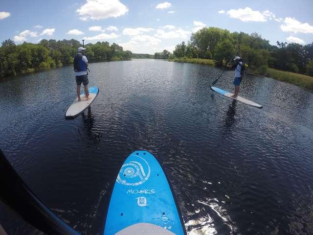 Promenade en stand up paddle