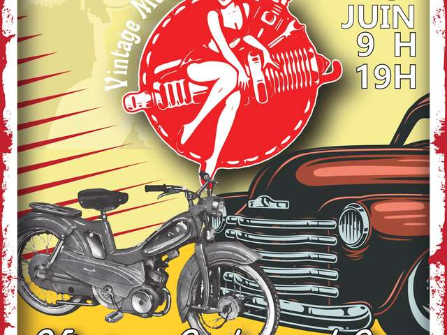 VINTAGE CYCLES AND CARS