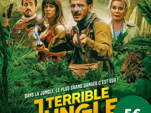CINEMA SOUS LES ETOILES - TERRIBLE JUNGLE