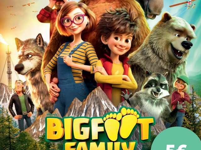 CINEMA SOUS LES ETOILES - BIGFOOT FAMILY