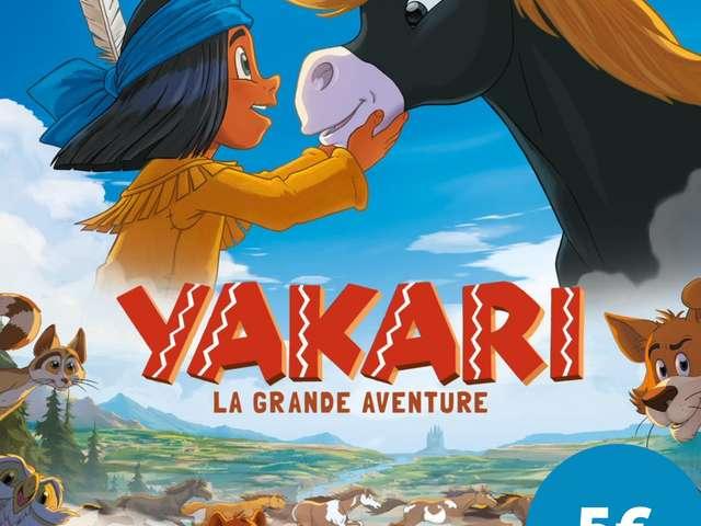 CINEMA SOUS LES ETOILES - YAKARI LA GRANDE AVENTURE
