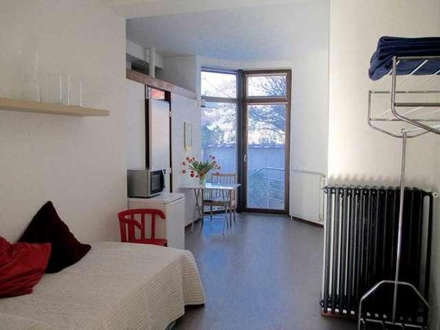 Studio Atomium, studio meublé