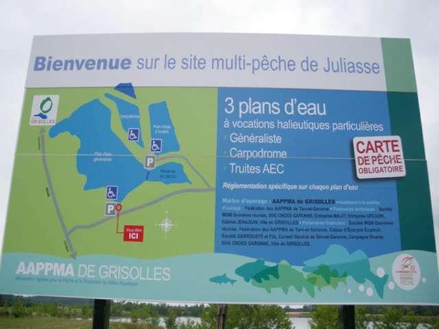 Poste de pêche Tourisme & Handicaps