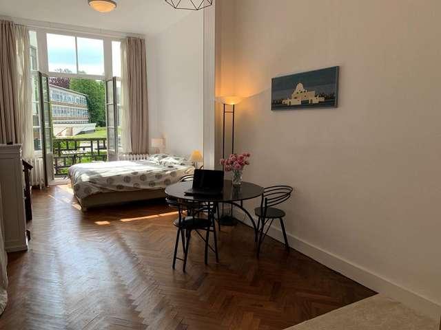 Ixelles en terrasse, logement meublé