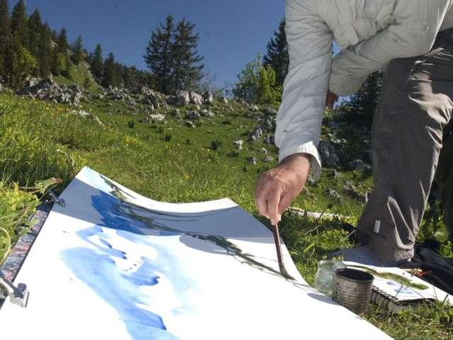 Cours et stages de peinture Atelier de Chartreuse