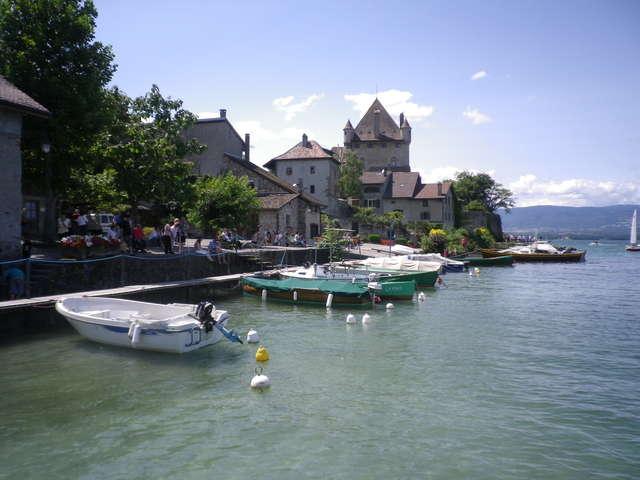 Découverte du Lac Léman et du village d'Yvoire