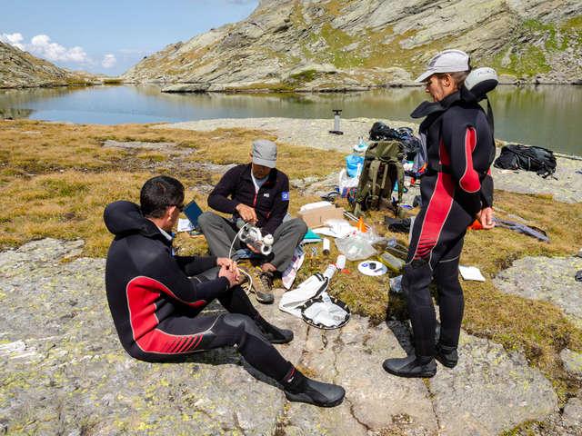 Soirée découverte des lacs sentinelles au refuge de Plan du Lac