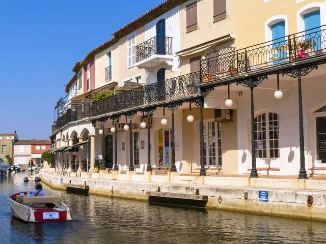 Lacustrian town of Port Grimaud