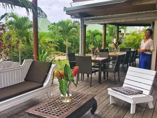 Restaurant Le jardin de Poé