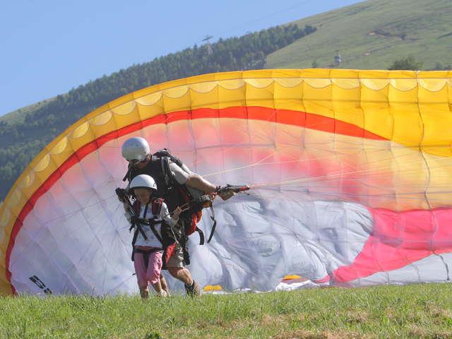 Vol en parapente - Air Ailes Parapente