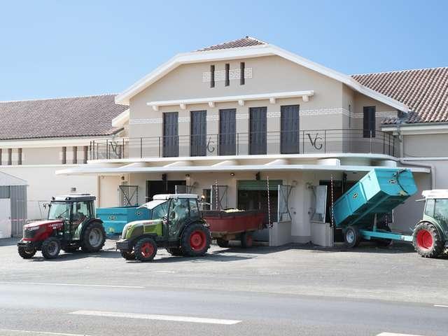 Die Genossenschaftskellerei Les Vignerons de Grimaud