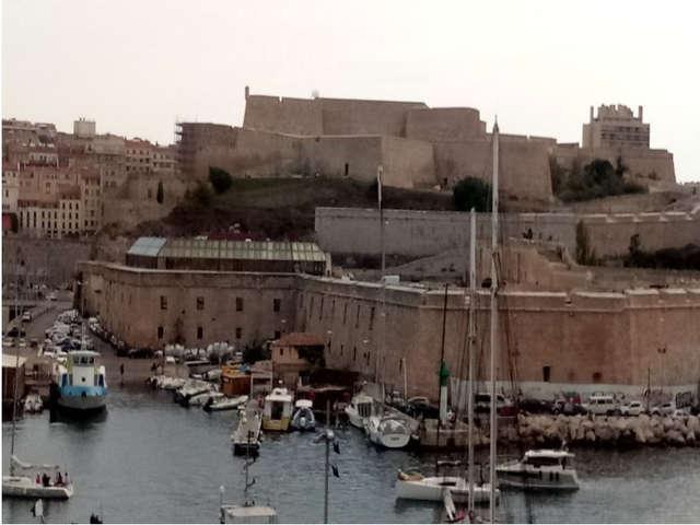 Fort Saint Nicolas et fort d'Entrecasteaux