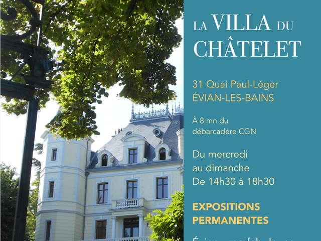 Expositions permanentes de la Villa du Châtelet