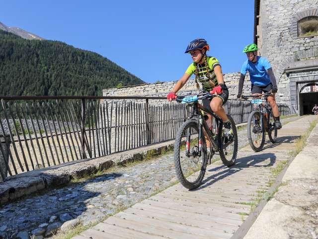 Découverte en vélo - « Esseillon(s) », les forts sans effort depuis La Norma