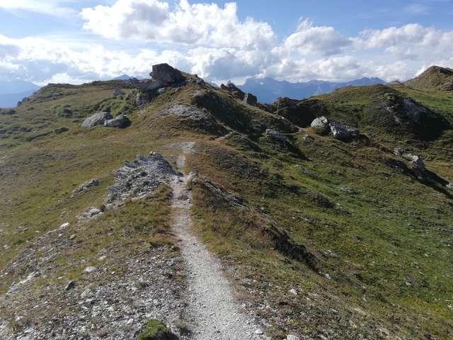 Sentier du fou - La Tzoumaz