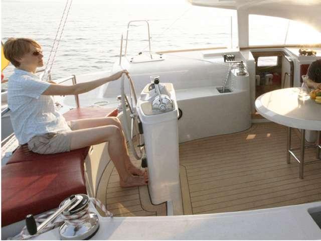 Balade à la voile en catamaran