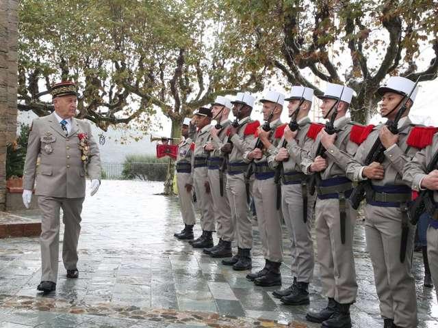 Commemoration of the Armistice in Grimaud