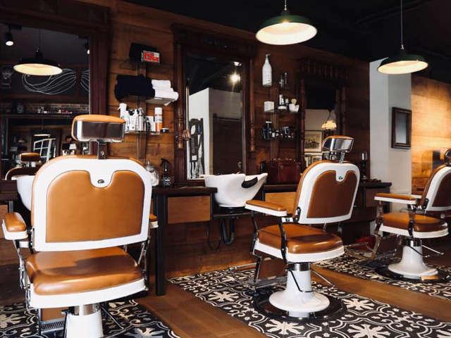 Le Barber Shop (by Amanda Lesley)