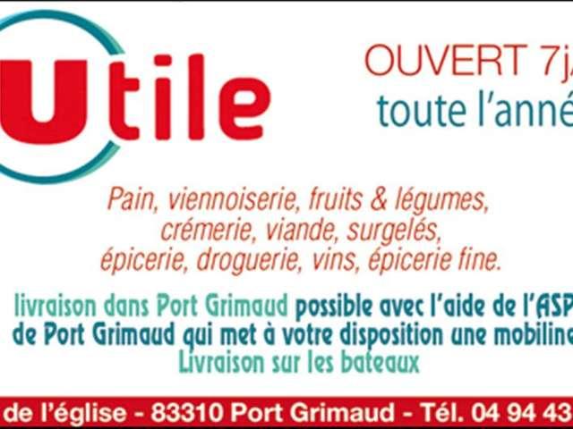 Supermarkt Utile - Port Grimaud