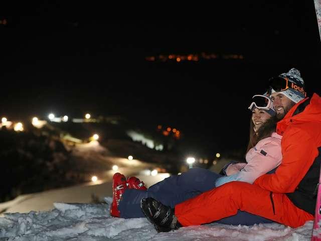 Domaine de ski nocturne du Collet