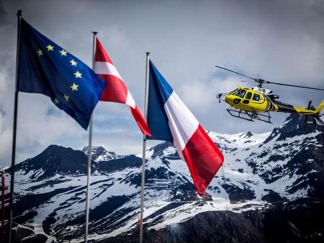 Tour du Mont-Blanc en hélicoptère