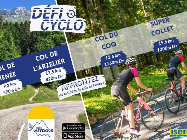 Défi cyclo de la montée du Super Collet