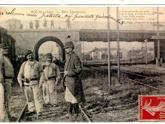 1914-1918, Bourg-en-Bresse, ville de l'Arrière
