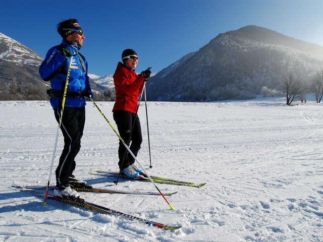 Ski de fond - ESF d'Ancelle