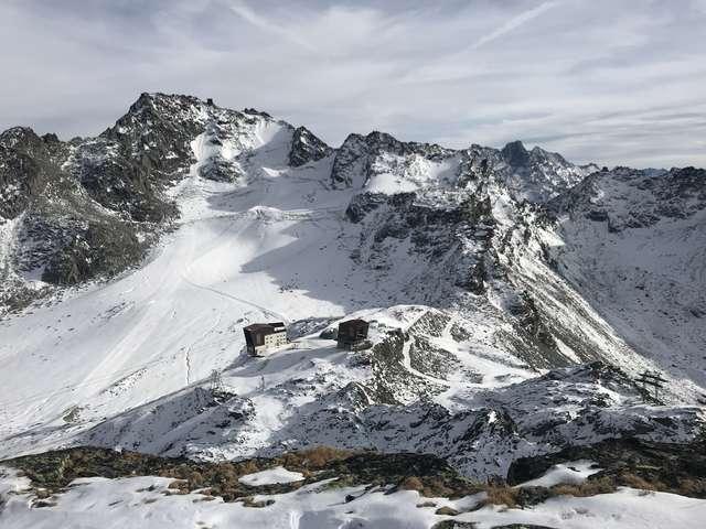 Via Ferrata in Les Gentianes - Androsace (red)